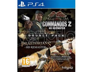 COMMANDOS 2&PRAETORIANS:HD REMASTER DPK STRATEGICO - PLAYSTATION 4