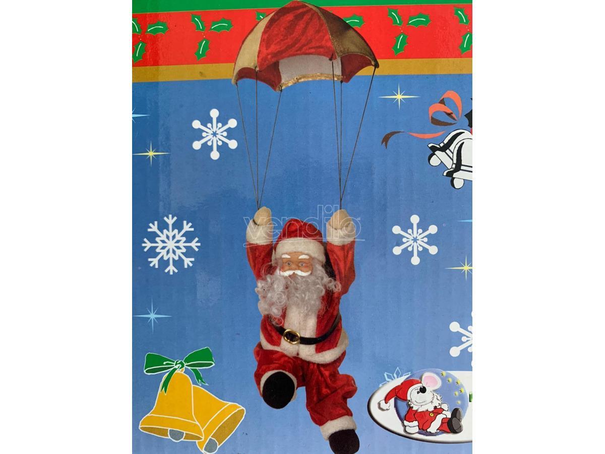 Babbo Natale Musicale.Babbo Natale Musicale Paracadute Da Appendere Galvas Negozio Vendiloshop