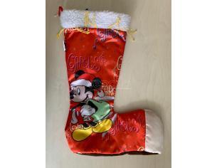 CALZA BEFANA XL MICKEY & CO. TOPOLINO CON SACCO 50 CM ADDOBBI DECORAZIONI NATALE Natale