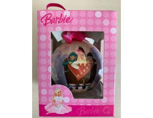 GALVAS 98049 PALLINA SFERA IN CARTA BARBIE ASSORTITI DIAMETRO 7,5 CM ADDOBBI NATALE