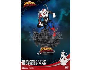 BEAST KINGDOM D-STAGE MAX VENOM SPIDER-MAN STATUA