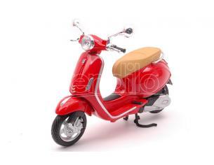MAISTO MI32721R VESPA PRIMAVERA 150 RED 1:12 Modellino