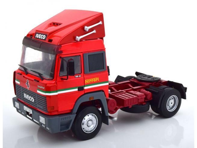 KK SCALE RK180073 IVECO TURBO STAR 1988 SCUDERIA FERRARI 1:18 Modellino