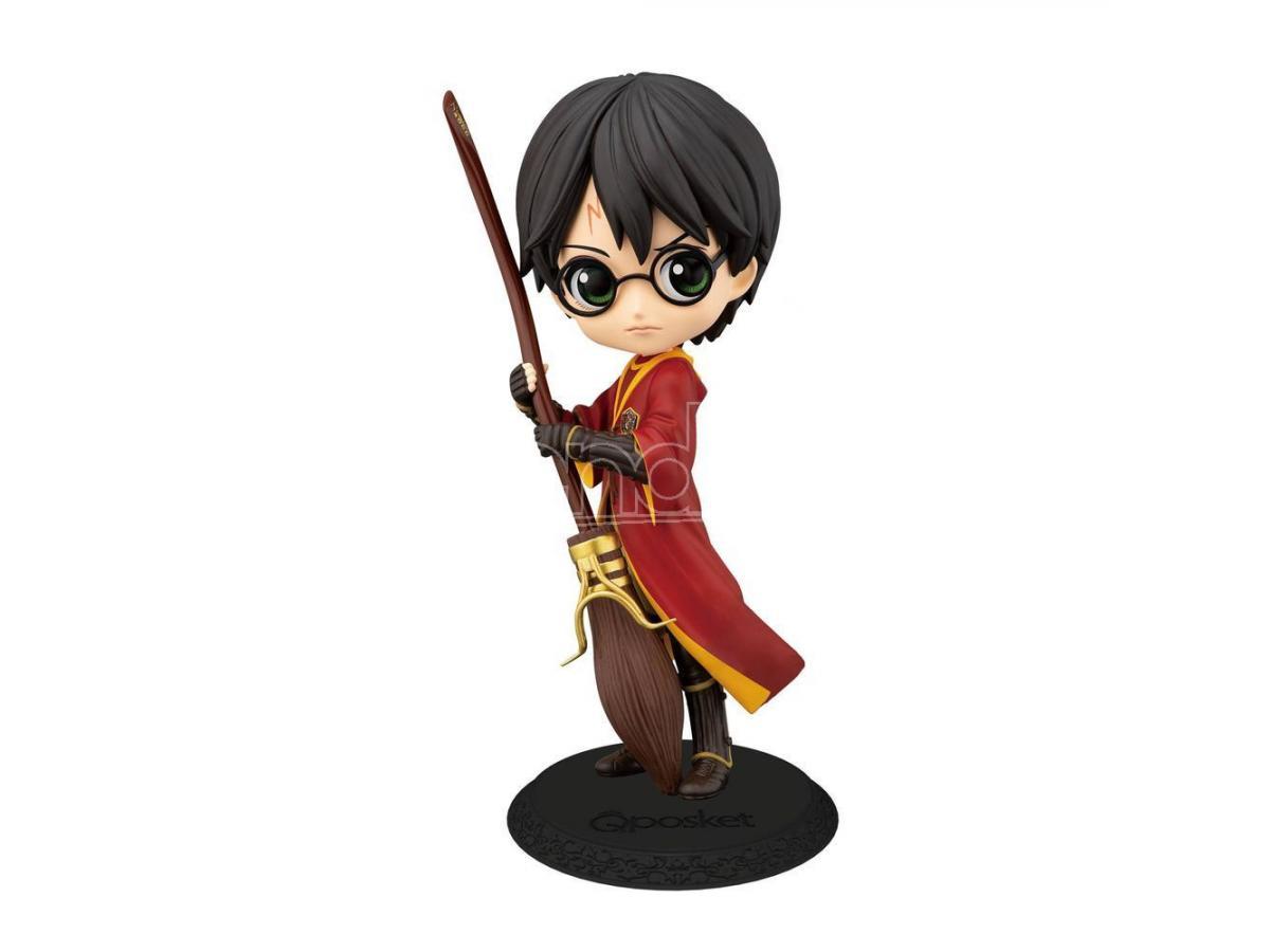 Harry Potter Statua Harry Quidditch Qposket Figura 14 cm Banpresto