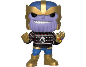 Funko Marvel POP Movies Vinile Figura Thanos Vacanze 9 cm