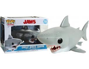 Funko Jaws POP Movies Vinile Figura Grande Squalo Bianco 15 cm