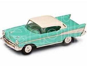 Hot Wheels LDC94201T CHEVROLET BEL AIR 1957 TURQOISE 1:43 Modellino
