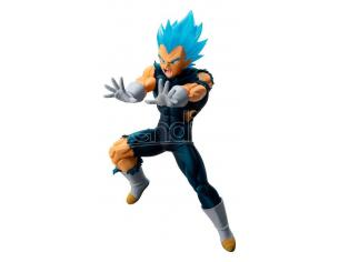 Dragon Ball Statua Super Saiyan God Vegeta Heroes Ichibansho Figura 13 cm Bandai