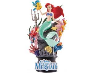 La Sirenetta Disney Figura Ariel Sebastian Flounder Diorama 15 cm Beast Kingdom