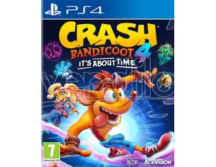 CRASH BANDICOOT 4 - IT'S ABOUT TIME PLATFORM PLAYSTATION