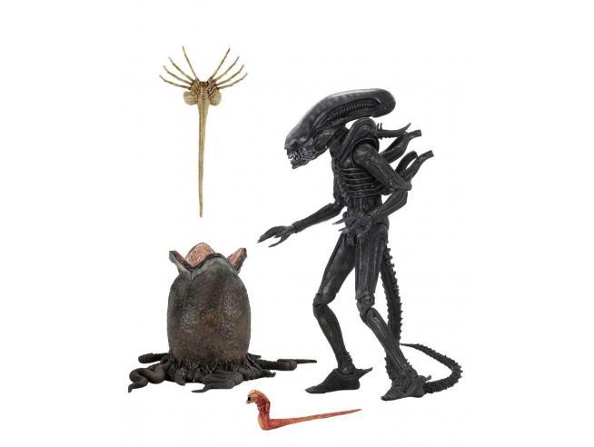 Alien 1979 Statua Alien Ultimate 40° Anniversario Big Chap Figura 23 cm Neca