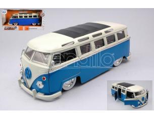 JADA TOYS JADA99056 VW BUS T1 BLUE/WHITE 1:24 Modellino