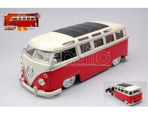 JADA TOYS JADA99058 VW BUS T1 RED/WHITE 1:24 Modellino
