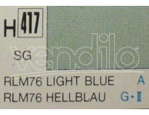 Gunze GU0417 LIGHT BLUE SEMI-GLOSS ml 10 Pz.6 Modellino