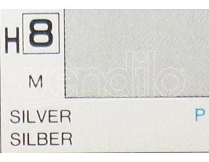 Gunze Gu0008 Silver Metallolic Ml 10 Pz.6 Modellino