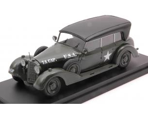 RIO RI4623 MERCEDES 770 W USA ARMY 1945 W/CLOSED ROOF 1:43 Modellino