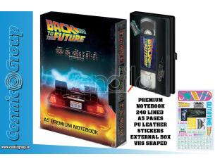 PYRAMID INTERNATIONAL BACK TO THE FUTURE VHS A5 NOTEBOOK TACCUINO