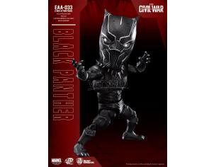 BEAST KINGDOM EGG ATTACK ACT CIVIL WAR BLACK PANTHER ACTION FIGURE