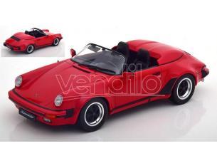 KK SCALE KKDC180451 PORSCHE 911 SPEEDSTER 1989 RED 1:18 Modellino