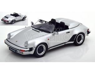 KK SCALE KKDC180453 PORSCHE 911 SPEEDSTER 1989 SILVER 1:18 Modellino
