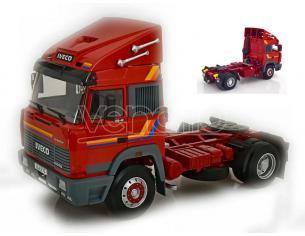 KK SCALE RK180071 IVECO TURBO STAR 1988 RED 1:18 Modellino