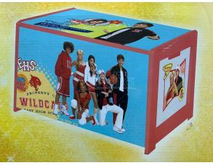 CASSAPANCA PORTA GIOCHI DISNEY HIGH SCHOOL MUSICAL