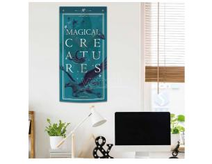 H.POTTER MAGICAL CREATURES WALL BANNER WALL SCROLL BS STUDIO