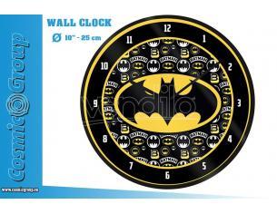 DC BATMAN LOGO WALL CLOCK OROLOGIO PYRAMID INTERNATIONAL