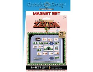 LEGEND OF ZELDA RETRO MAGNET SET MAGNETI PYRAMID INTERNATIONAL