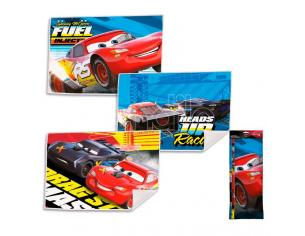 Disney Cars Set 3 Asciugamani Bambino Assortiti 40 x 30 cm Licensing