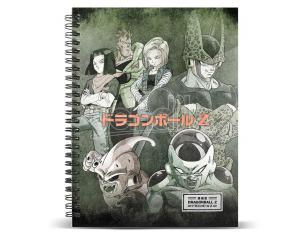 Dragon Ball Evil A4 Agenda Karactermania