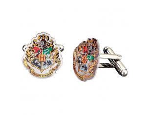 Harry Potter Hogwarts Crest Cufflink The Carat Shop