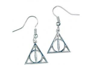 Harry Potter Deathly Hallows earrings The Carat Shop