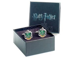 Harry Potter Serpeverde Crest Cufflinks The Carat Shop