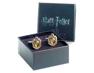 Harry Potter Tassorosso Crest Cufflinks The Carat Shop