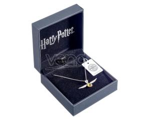 Harry Potter Golden Snitch swarovski necklace The Carat Shop