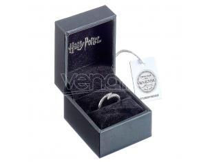 Harry Potter Lightening Bolt swarovski silver ring The Carat Shop
