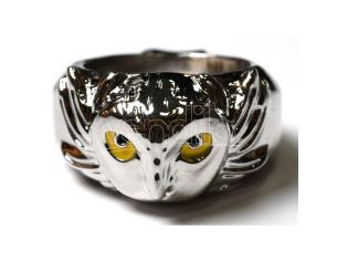 Harry Potter Hedwig ring Bioworld
