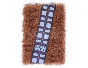 Star Wars Peluche Agenda Notebook A5 Pelosa Chewbacca Cerda