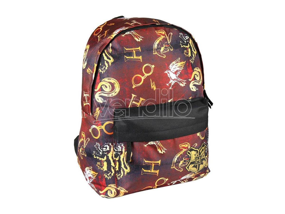 Harry Potter Zaino Scuola Rosso Hogwarts 41cm Cerdà