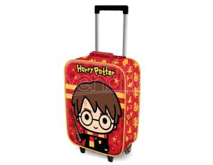 Harry Potter Wand 3D trolley suitcase 52cm Karactermania