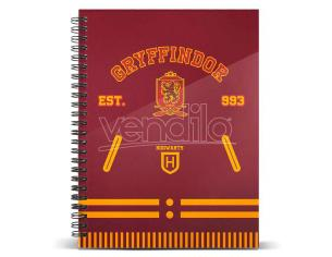 Harry Potter Grifondoro A5 Agenda Karactermania