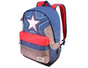 Marvel Captain America Regolabile Zaino 42cm Karactermania