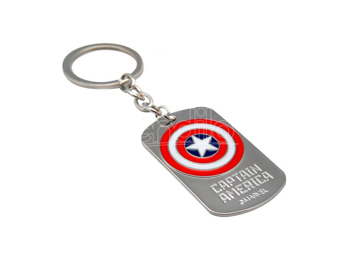 Marvel Captain America 3d Portachiavi Bambino Licensing