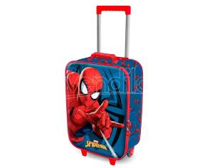Marvel Spiderman 3D trolley suitcase 52cm Karactermania