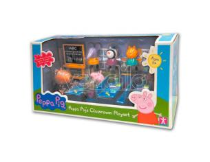 Peppa Pig Lets go to School playset Bandai