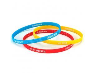 Valencia CF tricolor classic bracelet Valencia Cf
