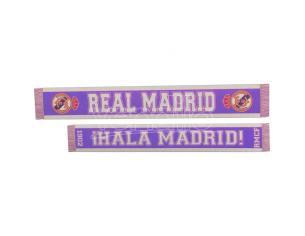 Real Madrid ¡hala Madrid! Double Ventaglio Sciarpa Real Madrid