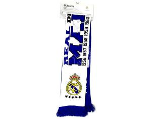 Real Madrid Desde 1902 Double Ventaglio Sciarpa Real Madrid