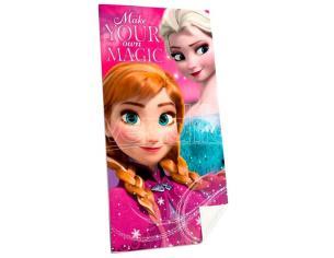 Disney Frozen Cotone Telo Mare Bambino Licensing